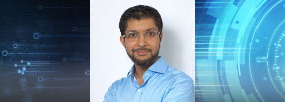 Khadar Alikhan, an Information Technology alum at UCSC Extension