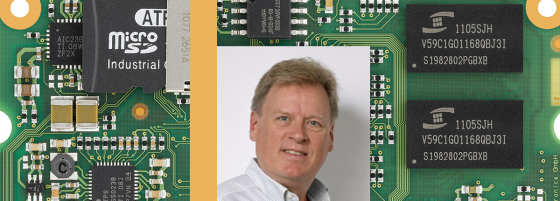 Dave Blevins completed the Embedded Systems certificate program at UCSC Extension.