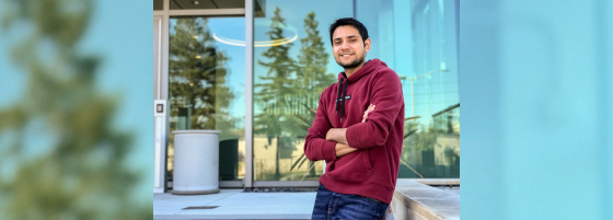 Aakash Dave, a UCSC Extension alumnus